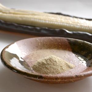 うなぎ白焼きとわさび塩